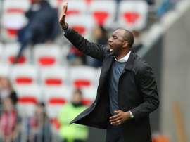 Patrick Viera sera bien l'entraîneur de Nice la saison prochaine. AFP