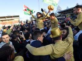 Quand le football permet la reconnaissance de tout un peuple. AFP