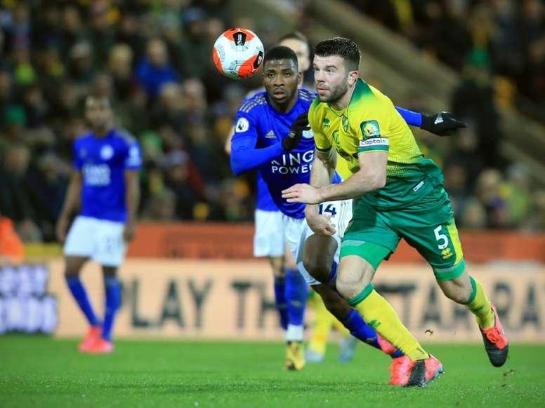 Leicester perd à Norwich et continue de sombrer. AFP