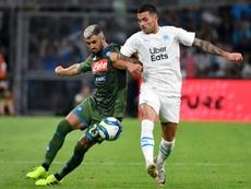 Naples croit en la victoire. AFP
