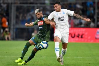 Hysaj (L) is all but a Lazio player. AFP