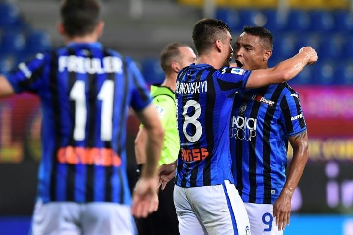 El Atalanta goleó al Alessandria. AFP