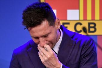 Messi fichó por el PSG este verano. AFP