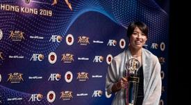 La Lyonnaise Saki Kumagai designée meilleure joueuse asiatique de l'année. AFP