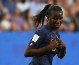 Début sérieux pour les Bleues au Tournoi de France. AFP