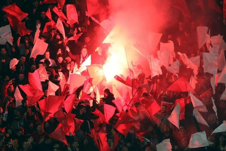 El Lokomotiv ha ganado la Copa de Rusia por décima vez. AFP/Archivo