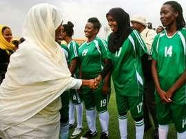 Une bonne nouvelle pour le football féminin. AFP