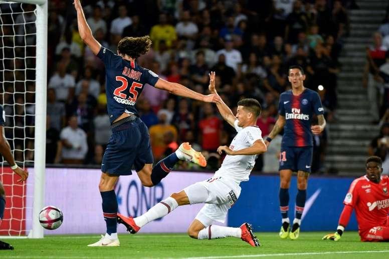 Rabiot aurait trouvé un accord avec le Barça. AFP