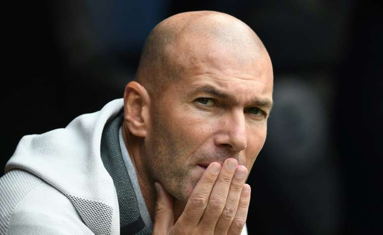 Zidane starts off the season with Real Madrid this Saturday. AFP