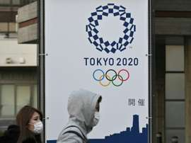 The IOC have postponed the 2020 Olympics. AFP