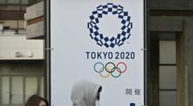 The Olympic Games will be cancelled. AFP
