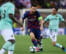 Stefano Sensi really likes Barca. AFP