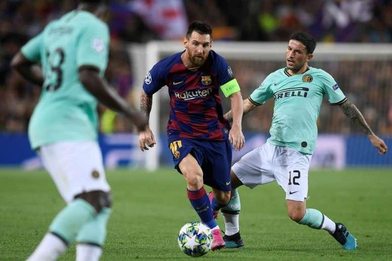Así es la poderosa empresa que anda detrás del fichaje de Messi. AFP
