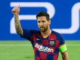 Messi au rendez-vous de Lisbonne. AFP
