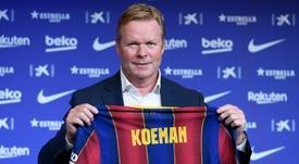 Ronald Koeman já deu uma lista à diretoria do Barcelona com três desejos. AFP