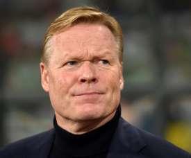 Koeman s'est confié sur cette possibilité d'entraîner un jour le FC Barcelone. AFP