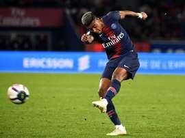 Le défenseur du PSG, Presnel Kimpembé.