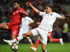 La Tunisie fait déjouer le Portugal. AFP