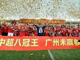 La Chine gagnée par le débat sur les salaires des footballeurs. AFP