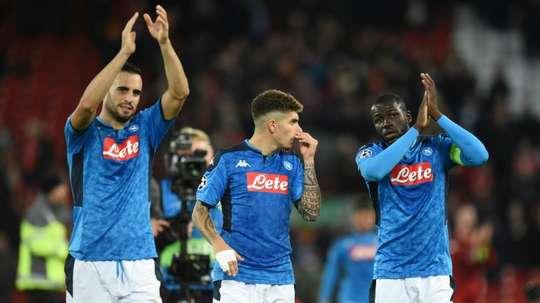 Man United sonde Di Lorenzo. AFP