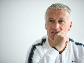 Deschamps se voit bien à la tête des Bleus en 2022. AFP