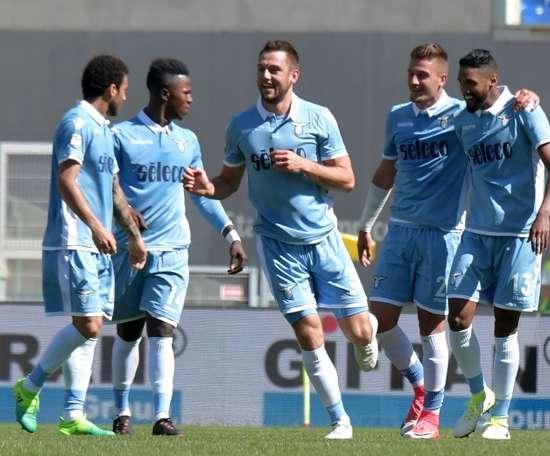 La Lazio no cuenta con Federico Marchetti. AFP