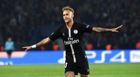 Xavi commente le sujet Neymar. AFP