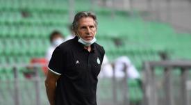 Claude Puel évoque le transfert de Fofana à Leicester. afp