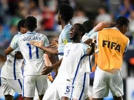 Inglaterra derrotó a Venezuela para ganar el Mundial Sub 20. AFP