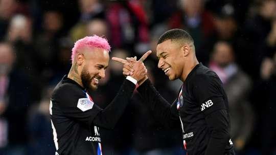 Les compos probables du match de Ligue 1 entre Montpellier et le PSG. AFP