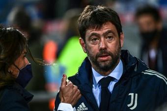 La Juve quiere seguir adelante con la Superliga. AFP