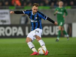 Christian Eriksen has struggled at Inter. AFP