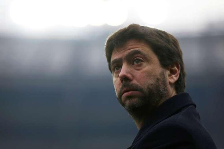Agnelli pourrait laisser partir l'un de ses joueurs. AFP
