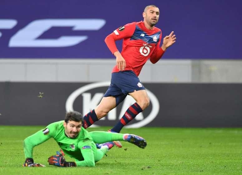 Yilmaz voit double pour Lille. GOAL