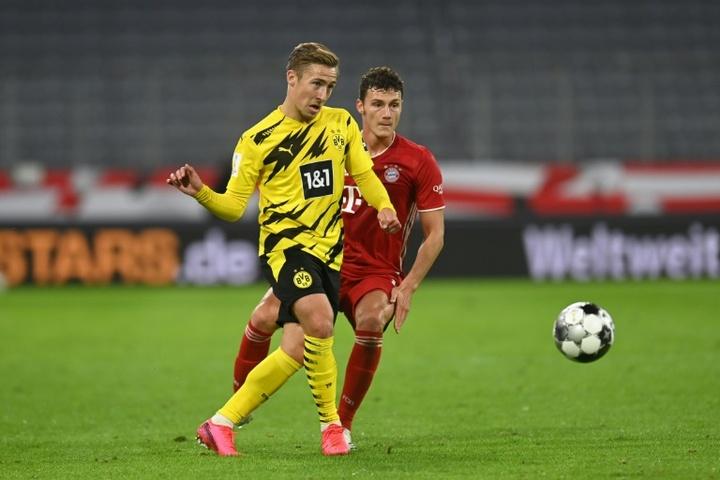 Felix Passlack has renewed at Borussia Dortmund until 2023. AFP/Archivo