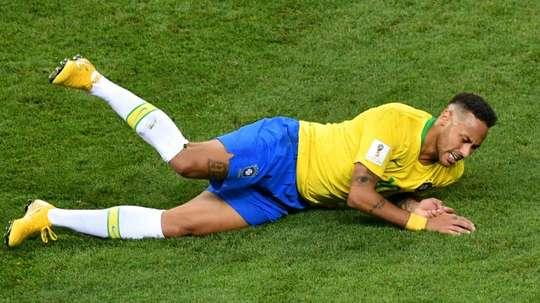 El Neymar más sincero se dejó ver por Twitter. AFP