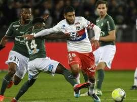 Revanche des jeunes pousses de l'ASSE après le 5-0 concédé à Geoffroy-Guichard. AFP