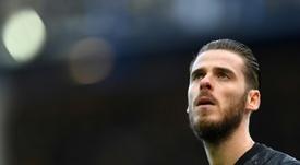 De Gea finalmente aceptó la renovación del United. AFP
