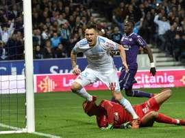 Ocampos pense que l'Olympique de Marseille a toute ses chances. AFP