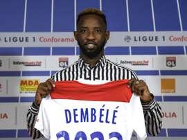 Dembélé veut faire ses débuts. AFP