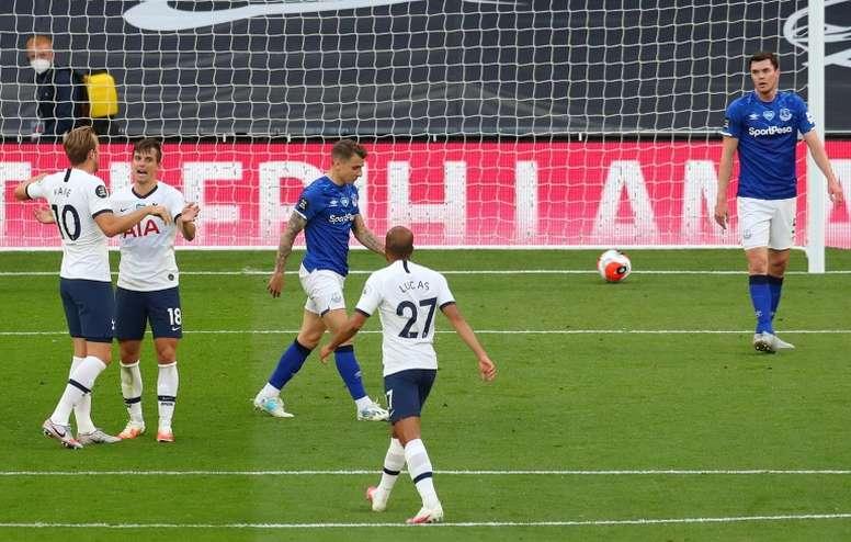 Angleterre: Tottenham bat Everton et s'accroche à son mince espoir européen