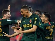 L'attaquant brésilien de Monaco Carlos Vinicius. AFP