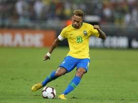 Neymar et Cavani, amis ennemis. AFP