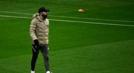 El Atlético prefiere una cesión sin opción de compra obligatoria. AFP