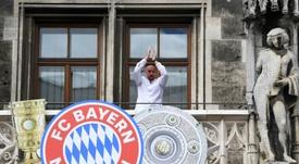 Ribéry se verrait bien coordinateur sportif au Bayern. AFP