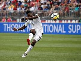 Le Ghana perd Asamoah Gyan à un mois de la CAN. AFP