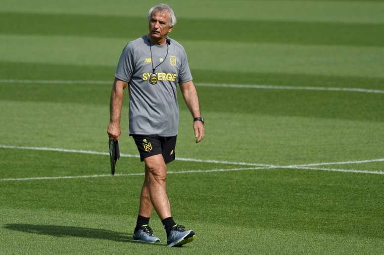 Halilhodzic has left Nantes after falling out with the club. AFP