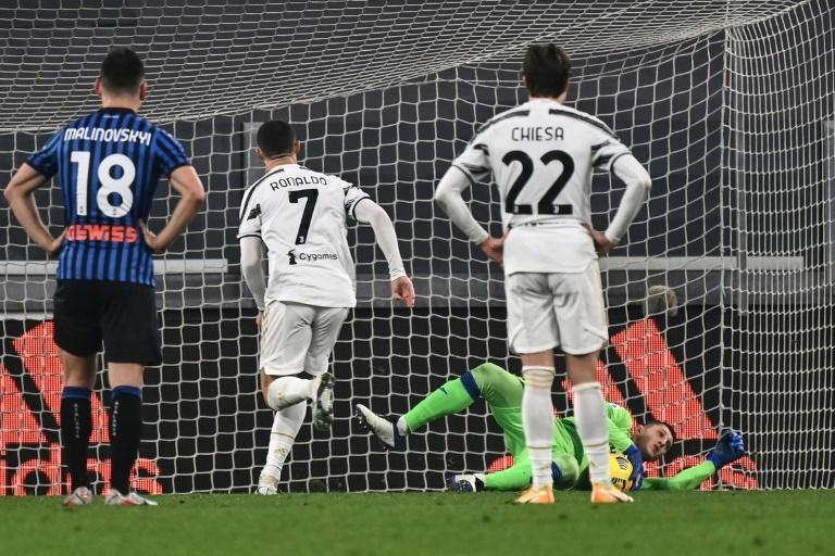Serie A : la Juventus cale (encore) avec un tout petit Ronaldo