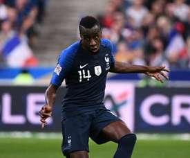 Matuidi pensa em parar de jogar pela Seleção. AFP
