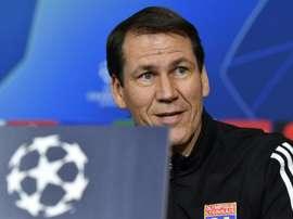 El Lyon recibe a la Juve. AFP